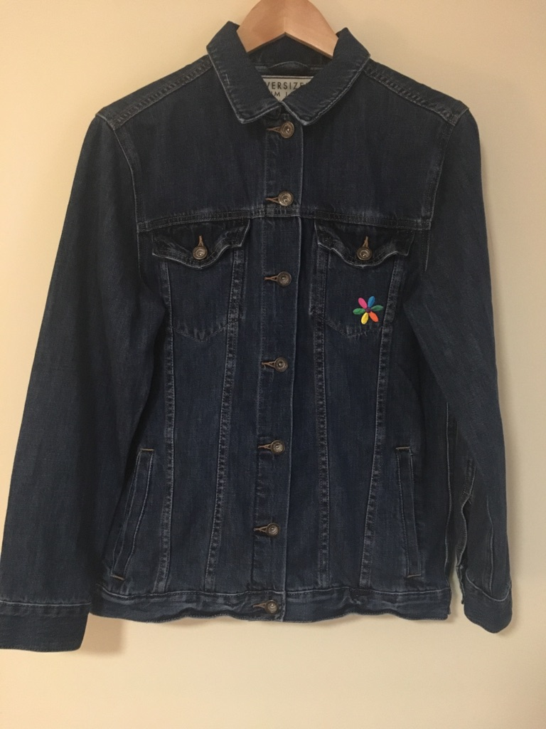 Next Oversized Denim Jacket Size 12
