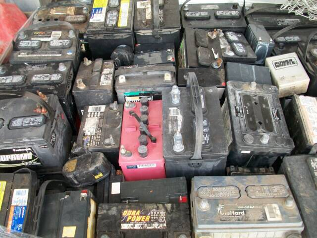 Wanted Scrap batteries