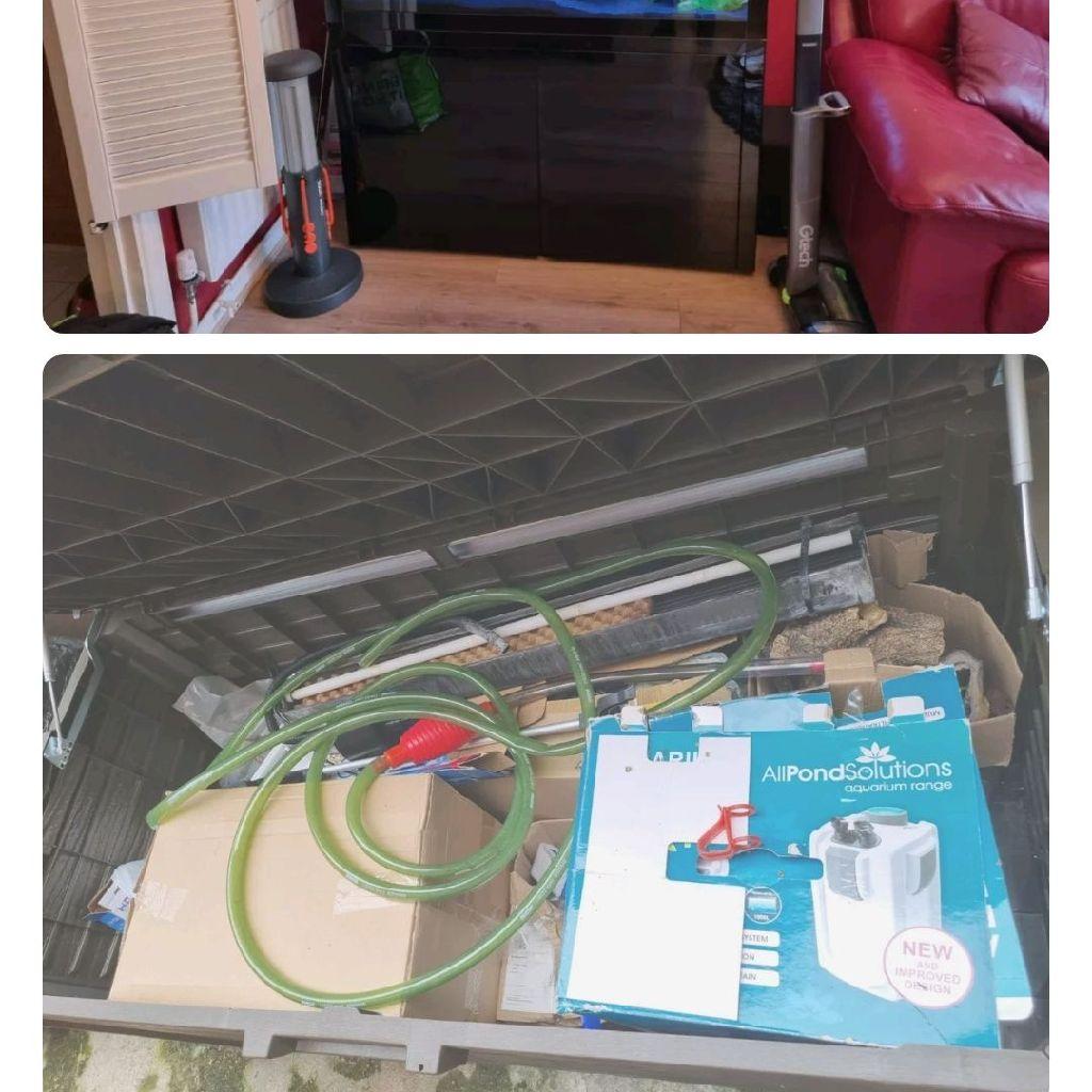 Clearaquatics Aquarium and cabinet 300 litre