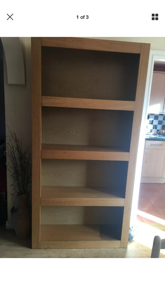 Solid Wood Next Home Shelving Unit