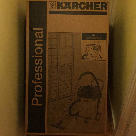 Karcher commercial vacuums wet & dry