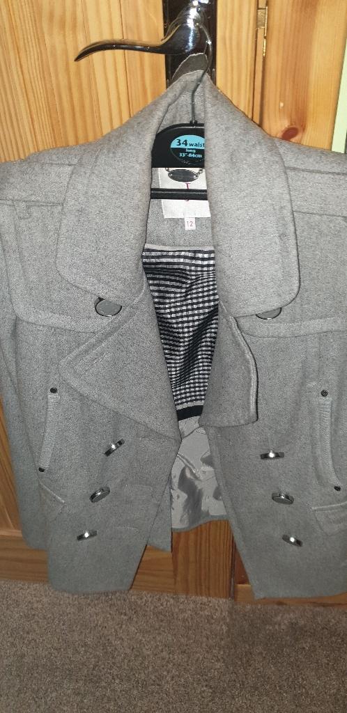 Jasper conran designer grey jacket