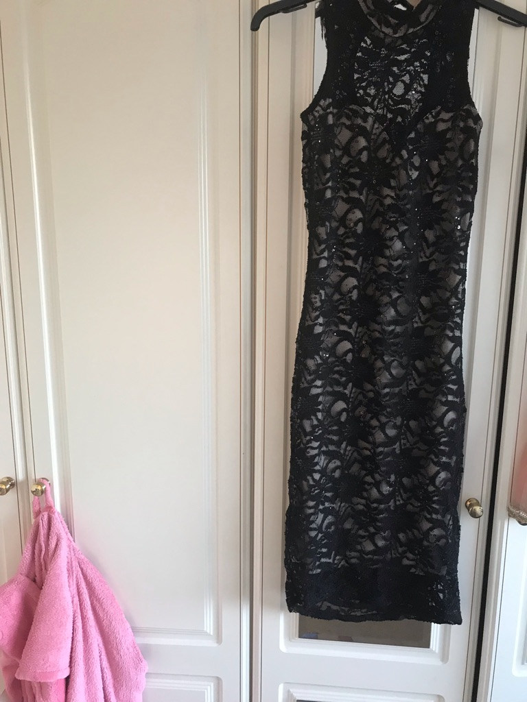 Black dress size 8