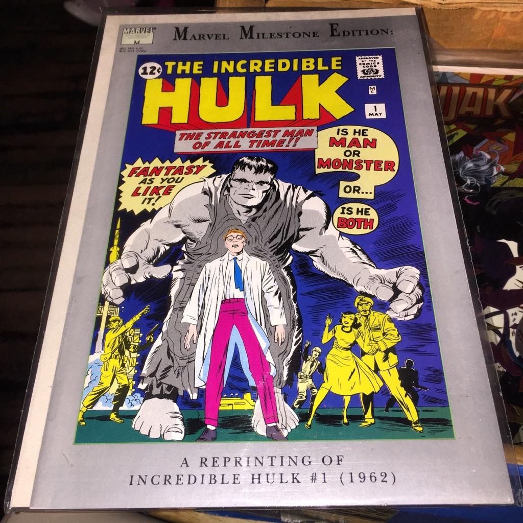 Hulk #1 reprint