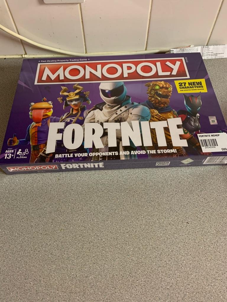 Fortnight monopoly