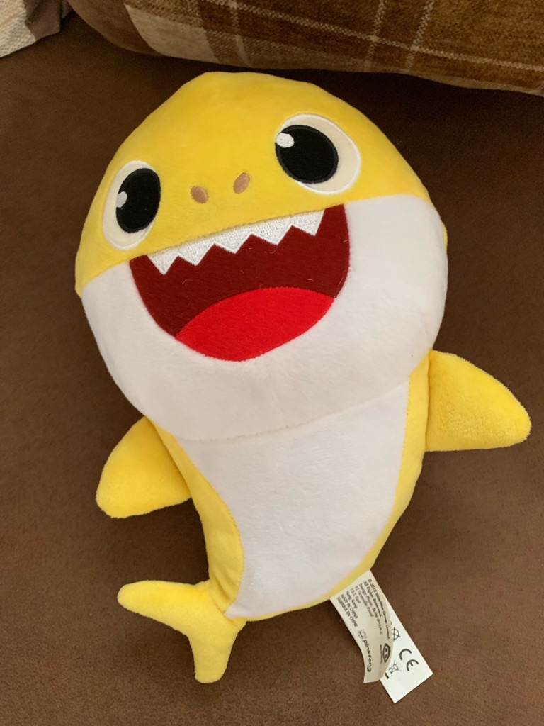 Baby shark sound plush doll