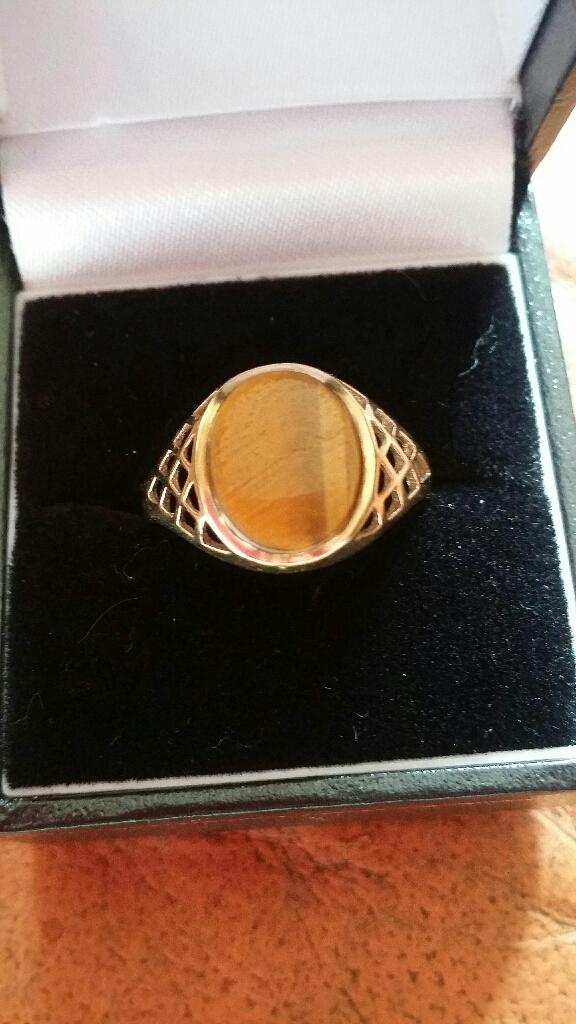 9ct gold Mans Signet ring
