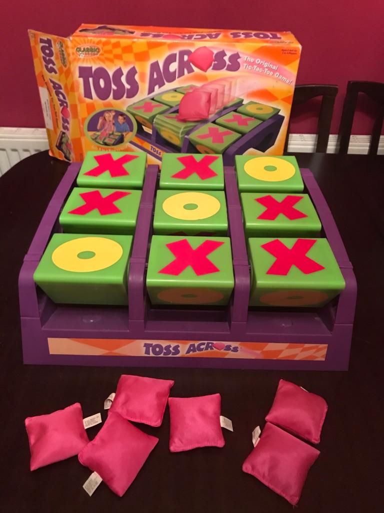 Brilliant Children's Big Mattel Toss Across Game