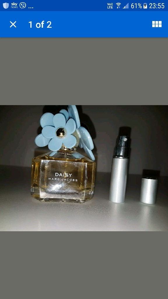 Marc Jacobs Daisy 5 ml sample.