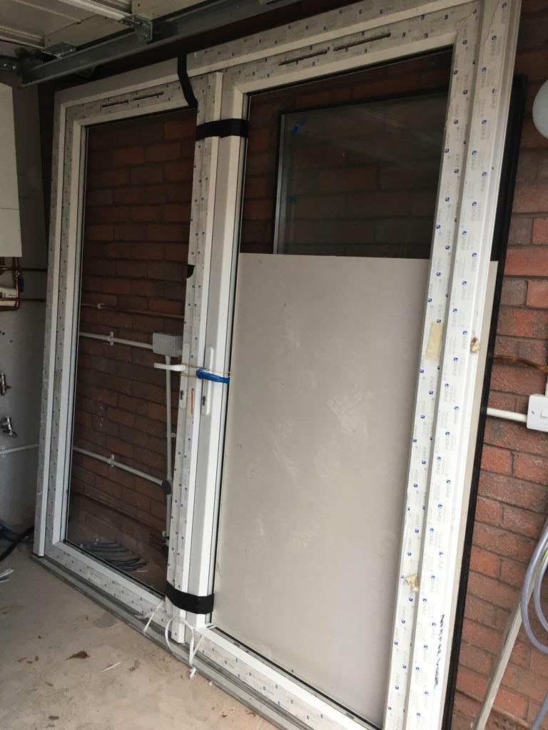 Complete patio doors