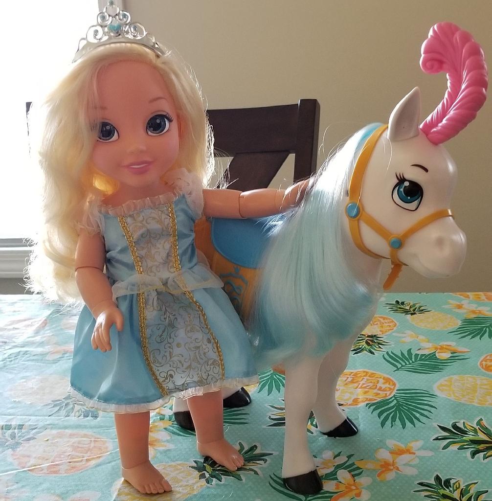 Cinderella with horse