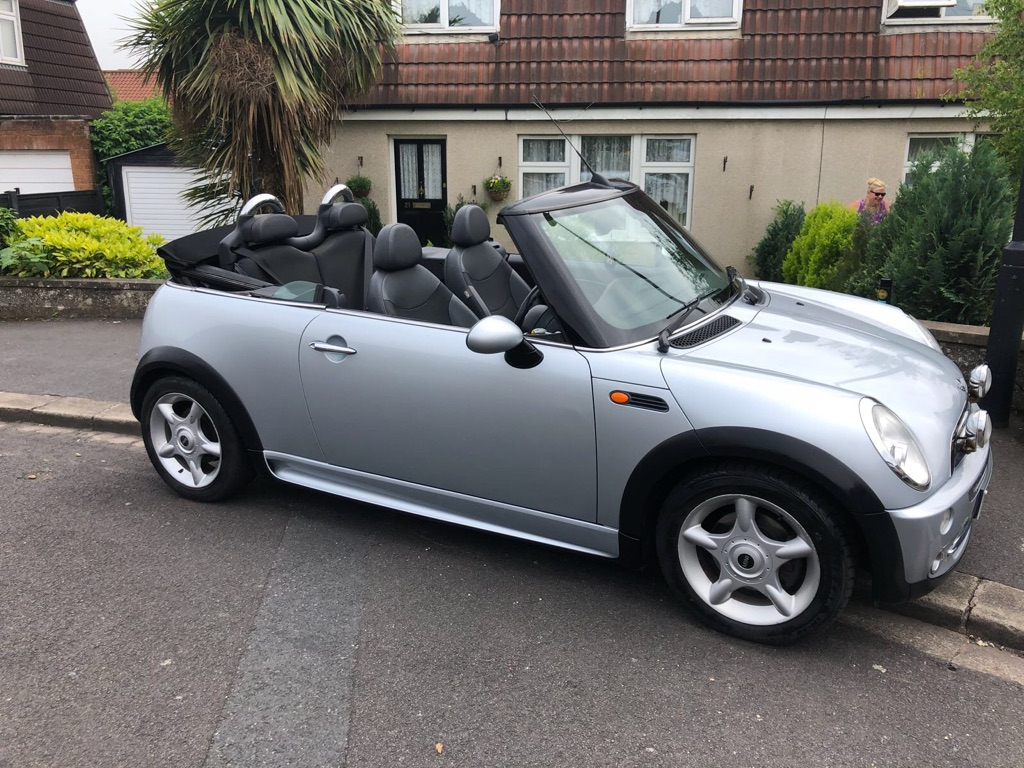 Mini Cooper convertible 1.6 Petrol