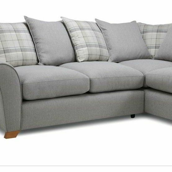 L shaped corner sofa with sofa bed - excellent condition
