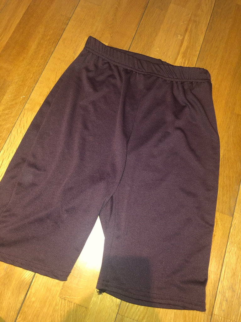 Misguided maroon cycle shorts