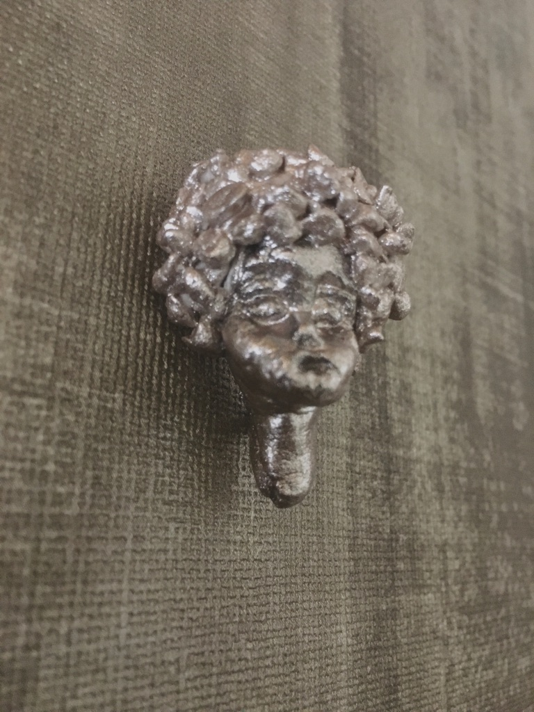 Afro Deco Brooch