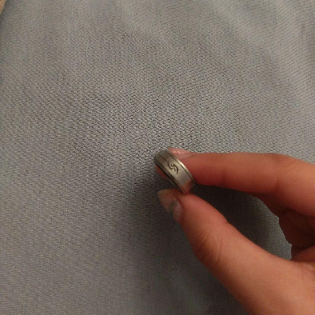titanium spinner ring