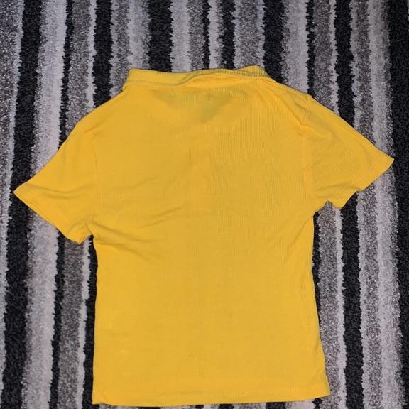 Yellow primark woman's top