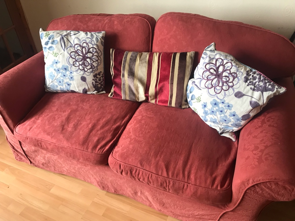 Three seater two person sofa bed