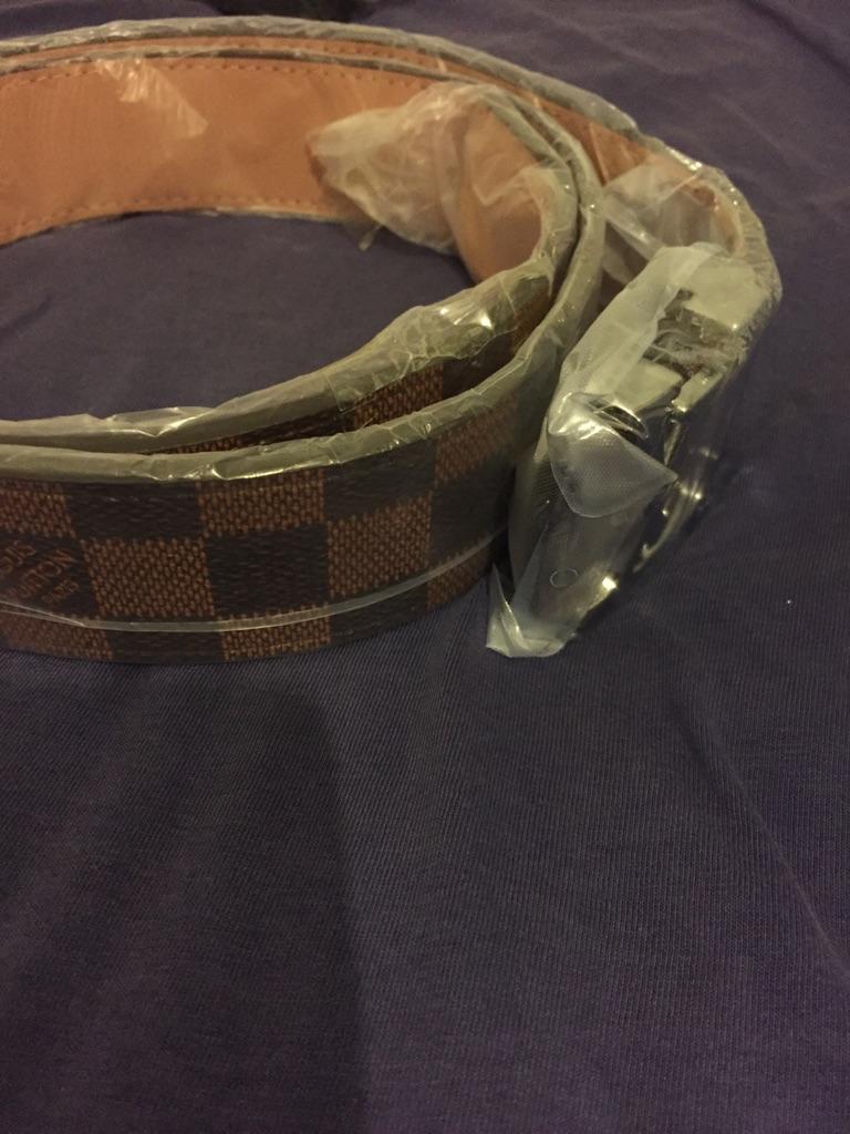 Pattern belt unisex