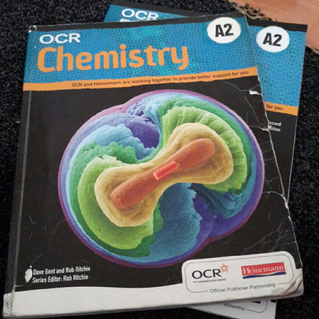 2 Chemistry OCR Books for A2