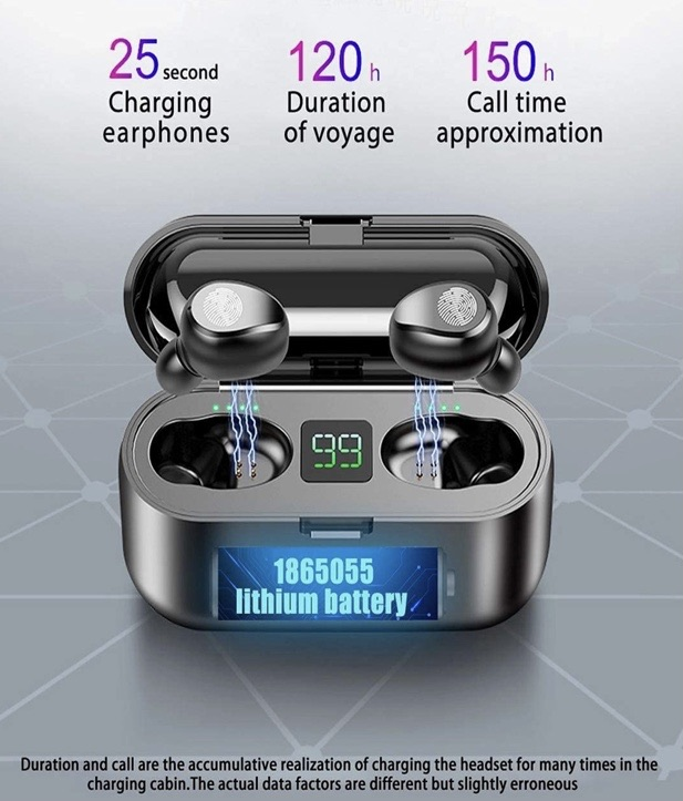 Bluetooth earbuds save 80% on selected products