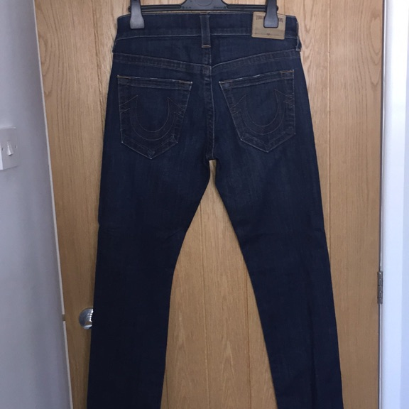 True religion, Geno relaxed slim jeans.