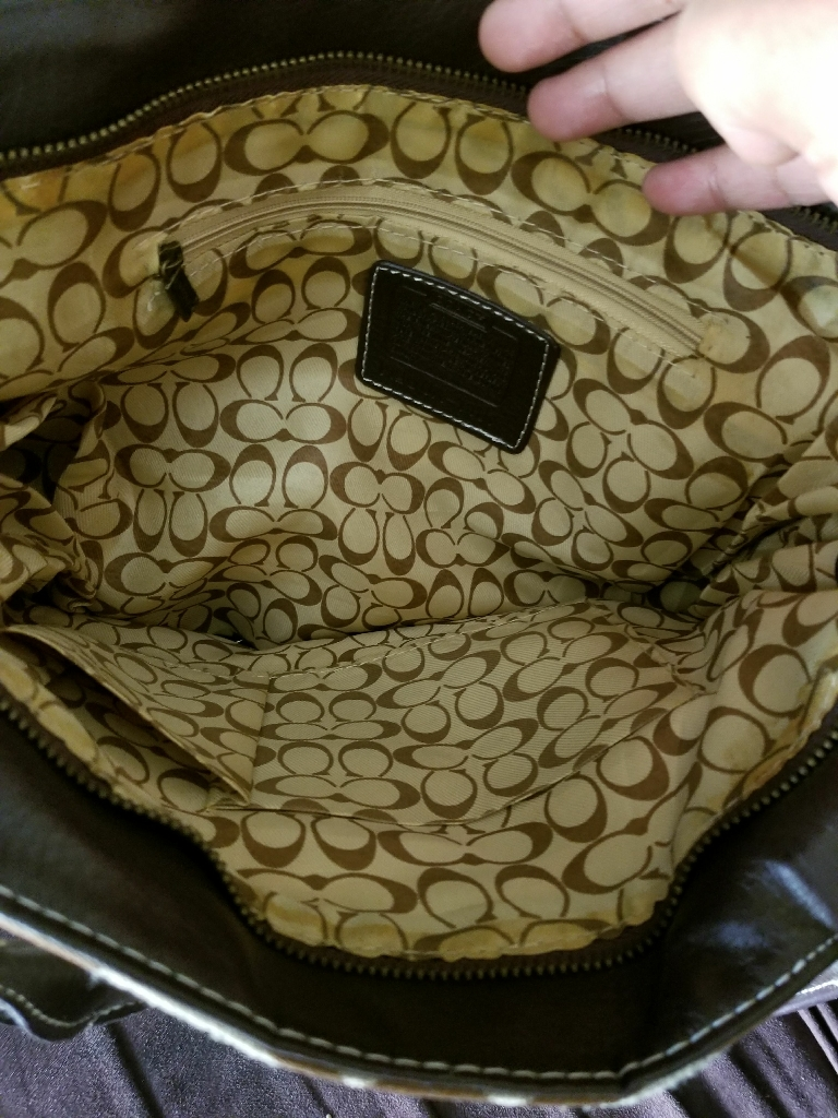 Official woman's coach bag