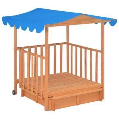 CHILDREN'S PLAYHOUSE WITH SAND BOX