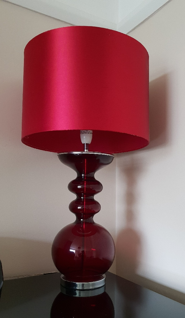 Matching standing lamp and table lamp