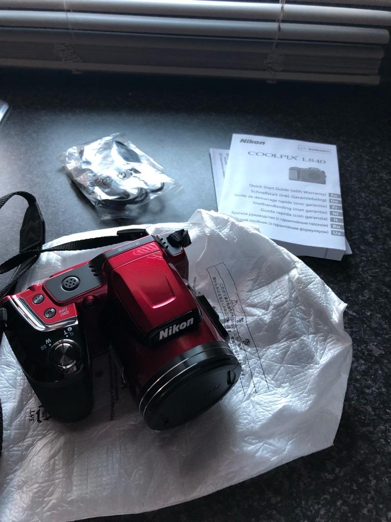 Nikon Cool pix L840 camera