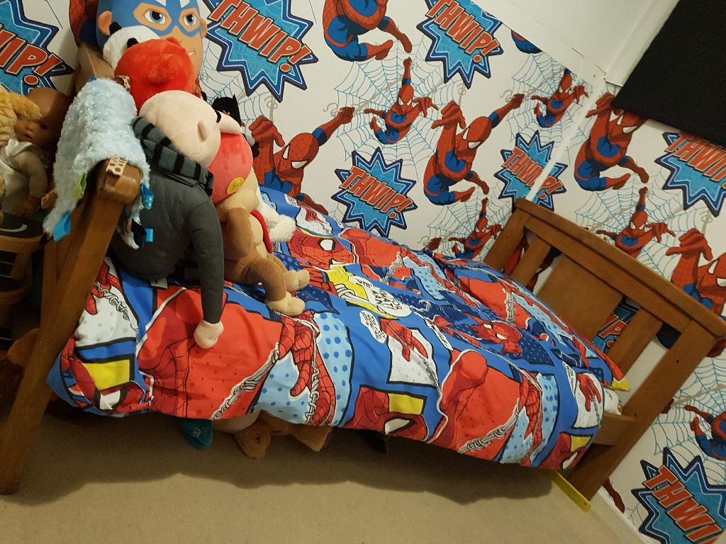 John Lewis wooden toddler bed