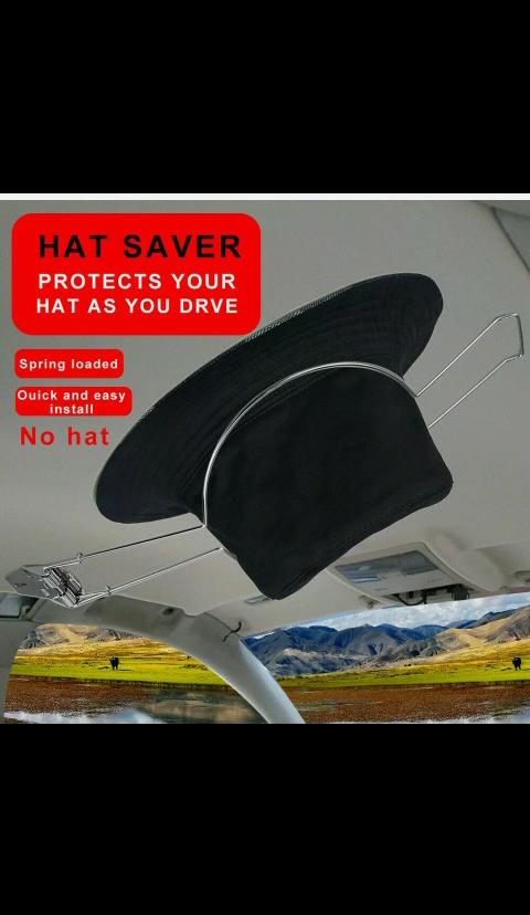 Hat Holder/Protector Truck, Car, SUV, Boat, Camper, Plant, Trailer