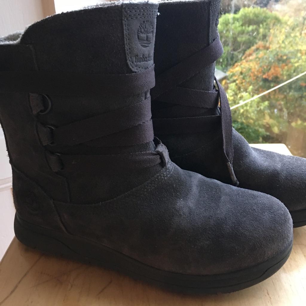 Size 4 Timberland Boots