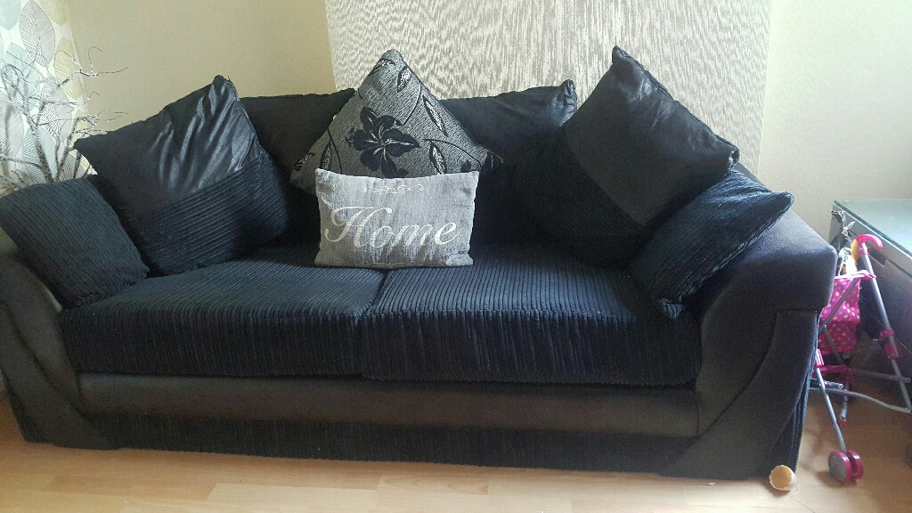 3+2 grey/black fabric wofa