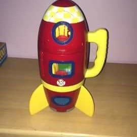 Peppa pig rocket