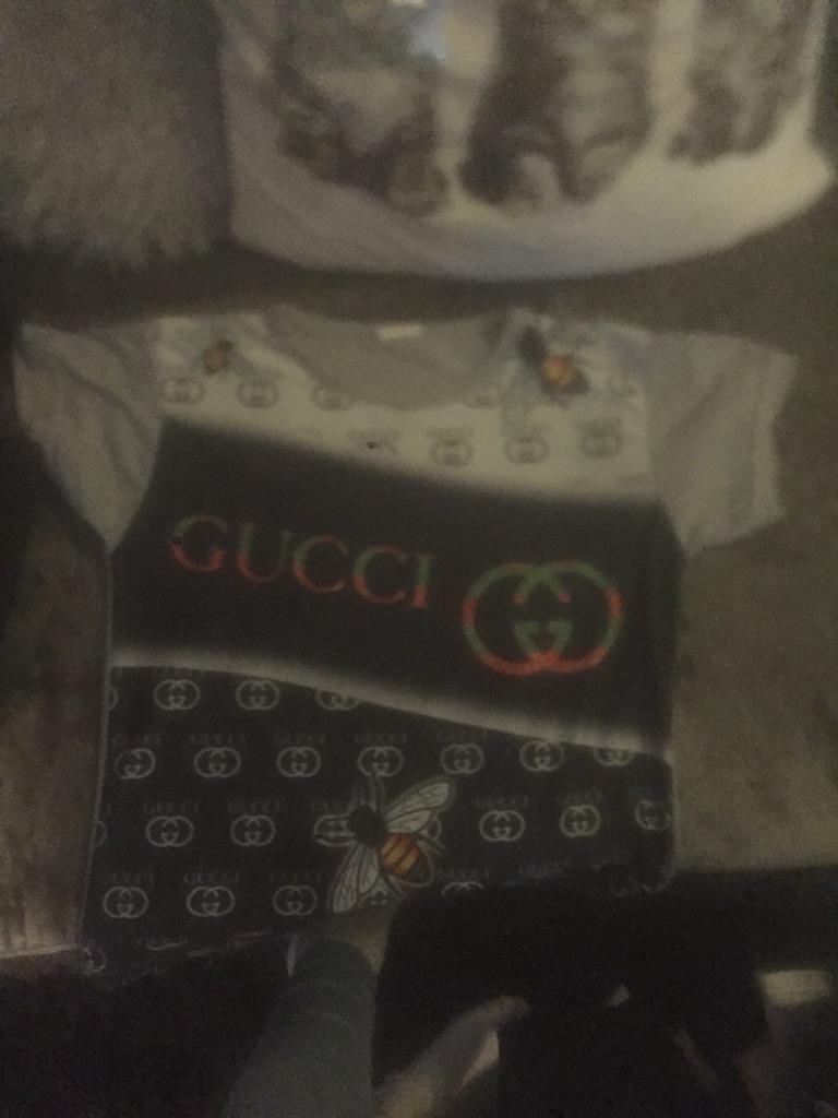 Gucci jacket and t shirt