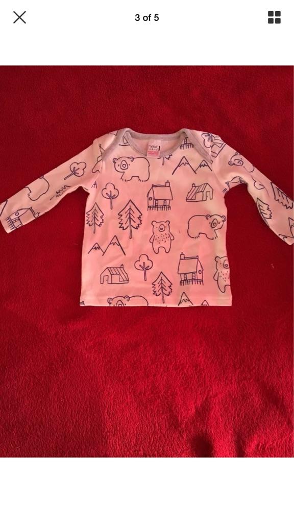 Baby Boy Clothes Bundle, Age 0-3