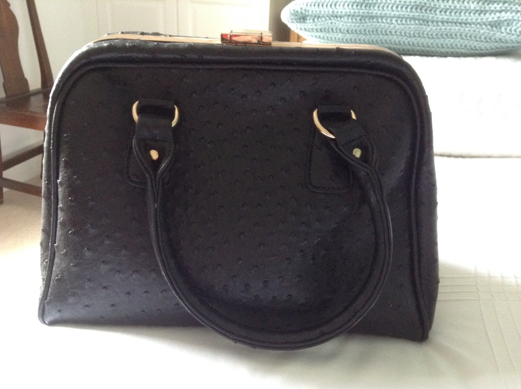 Black handbag for sale