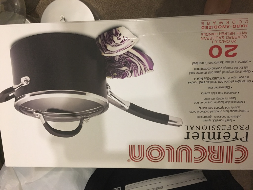 Brand new boxed - NO LID