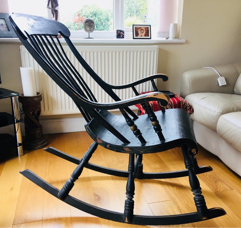 Wonderful Antique Swedish rocking chair.