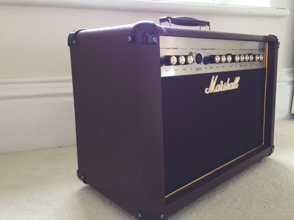 MARSHALL AS50D ACOUSTIC COMBO AMP - BROWN GOLD