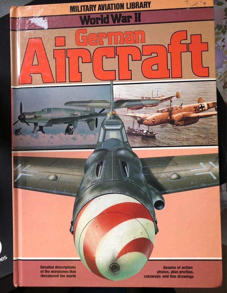 WORLD WAR II GERMAN AIRCRAFT BOOK