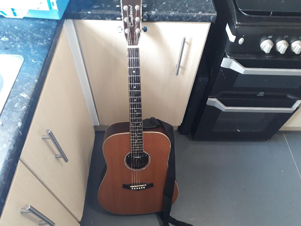 Tanglewood tw28 csn guitar