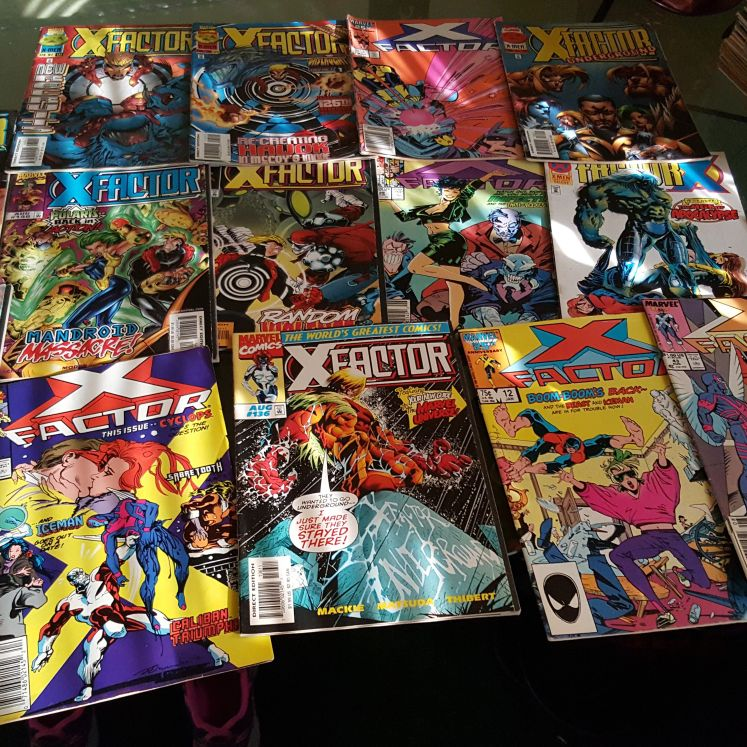 X Factor Comic Books Collection