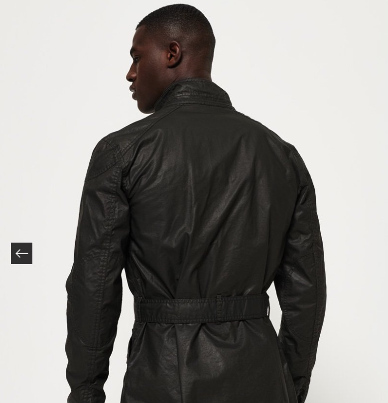 Men's super dry black olive jacket XXXL brand new