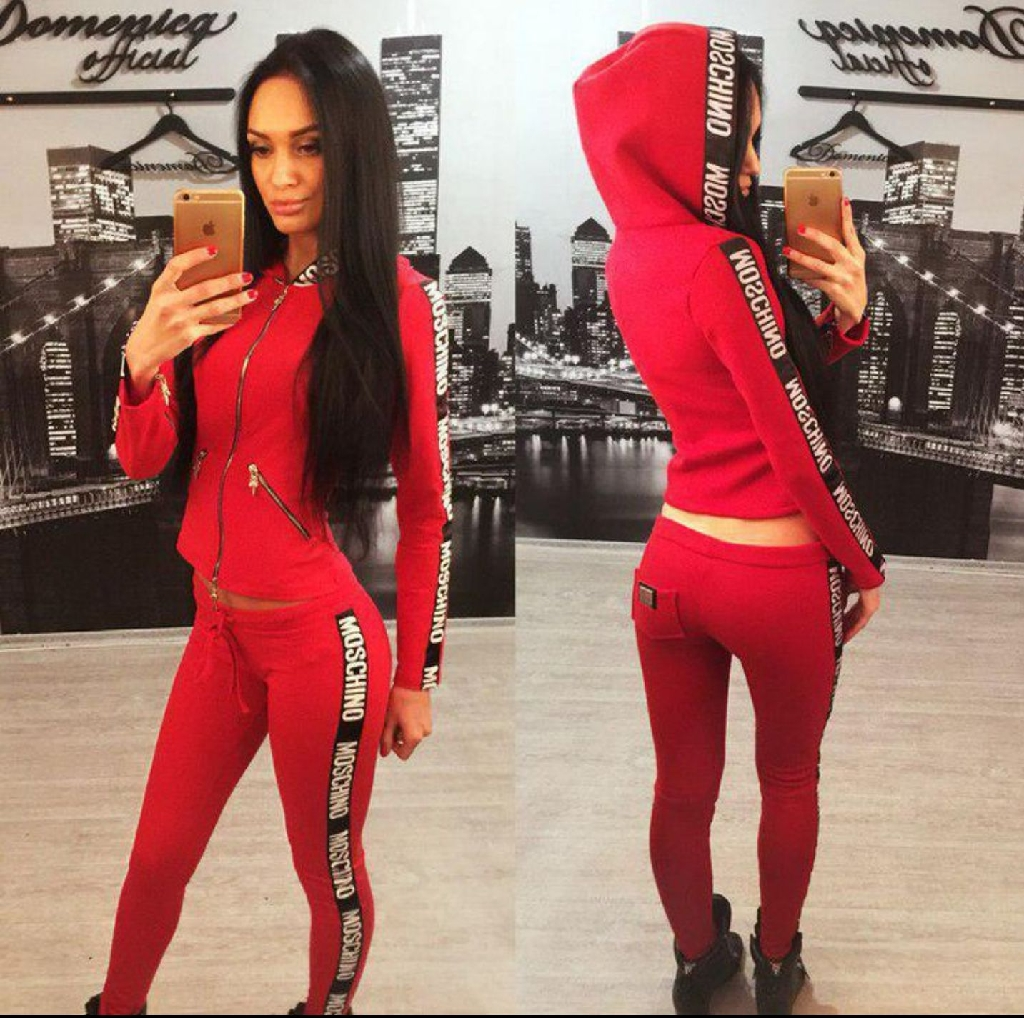 RED Tracksuit XL