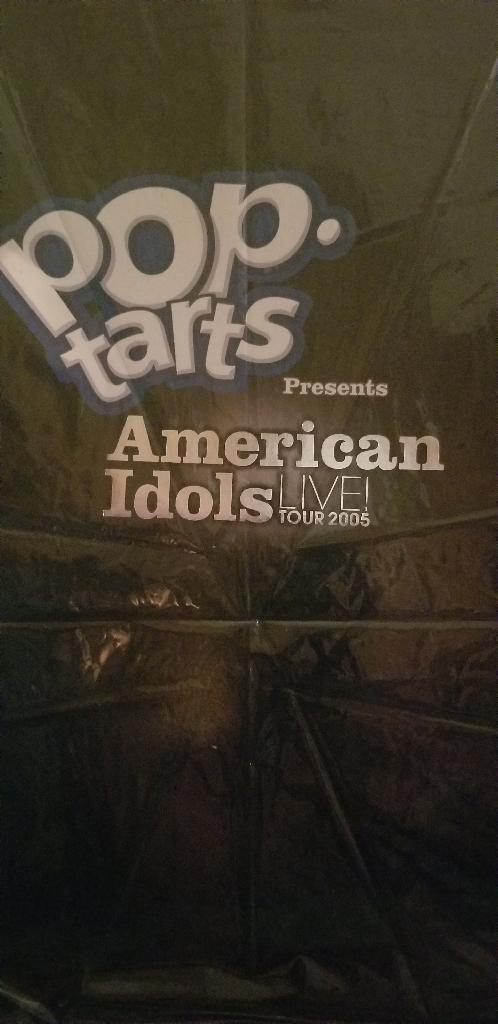 AMERICAN IDOL  TOUR  BOOK  2005 AND BO BICE SIGNED  2010 CALENDAR
