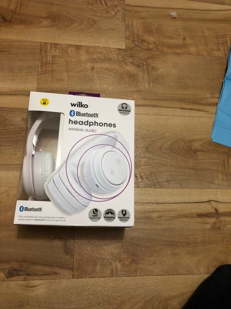 Welko bluetooth headphones
