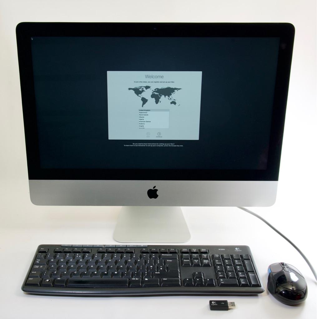 "Apple iMac 21.5"" 4K Retina i7 3.6ghz 16gb ram 256gb SSD June 2017"