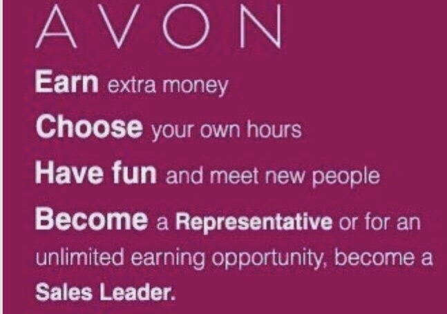 Join Avon today and start earning